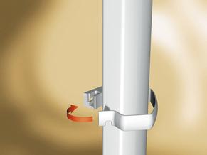 PVC водосточни тръби